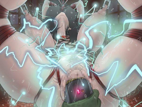 【リョナ】「拷問は任せろー」バリバリバリ『やめて!』電気系の拷問されてる女子達の拷問系二次エロ画像 【25】