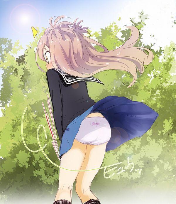 【二次】リアルでも遭遇したい女子高生のパンチラ画像 【27】