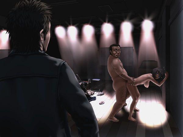 【NTR】彼氏が見ている前で寝取られる胸糞悪い二次エロ画像 【14】