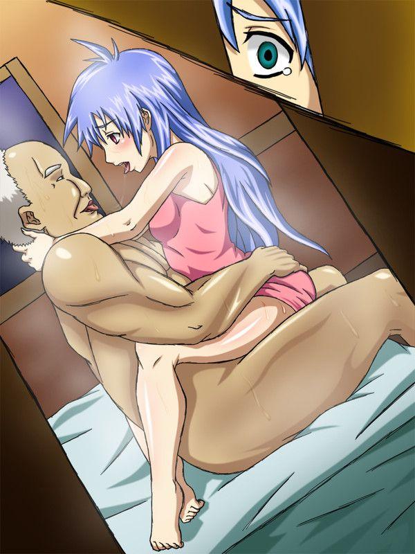 【NTR】彼氏が見ている前で寝取られる胸糞悪い二次エロ画像 【20】
