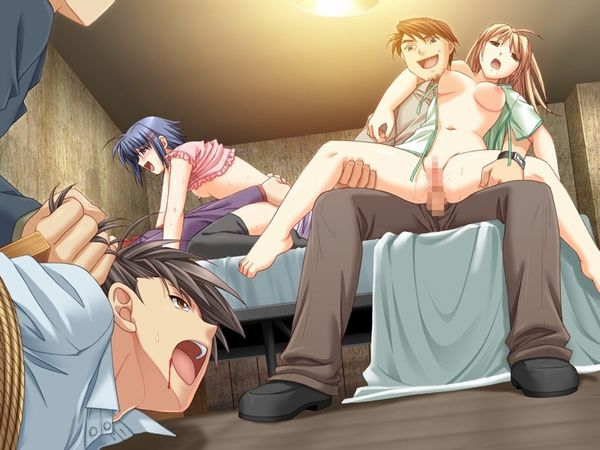 【NTR】彼氏が見ている前で寝取られる胸糞悪い二次エロ画像 【38】