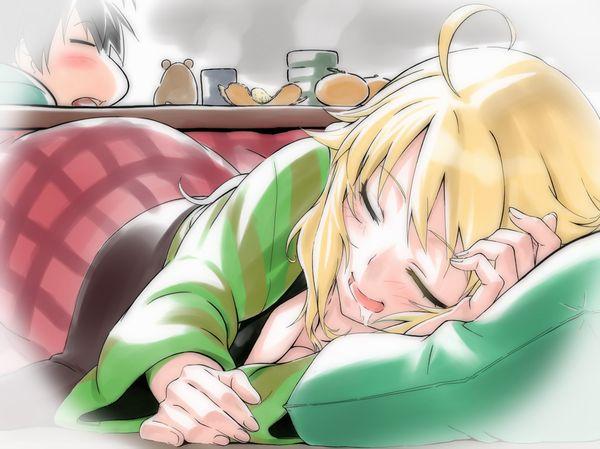 【悪戯・睡眠姦有り】涎垂らして寝てる女の子の二次画像 【6】