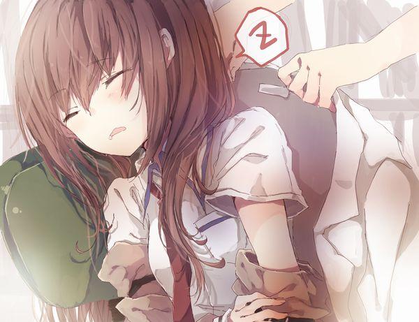 【悪戯・睡眠姦有り】涎垂らして寝てる女の子の二次画像 【30】