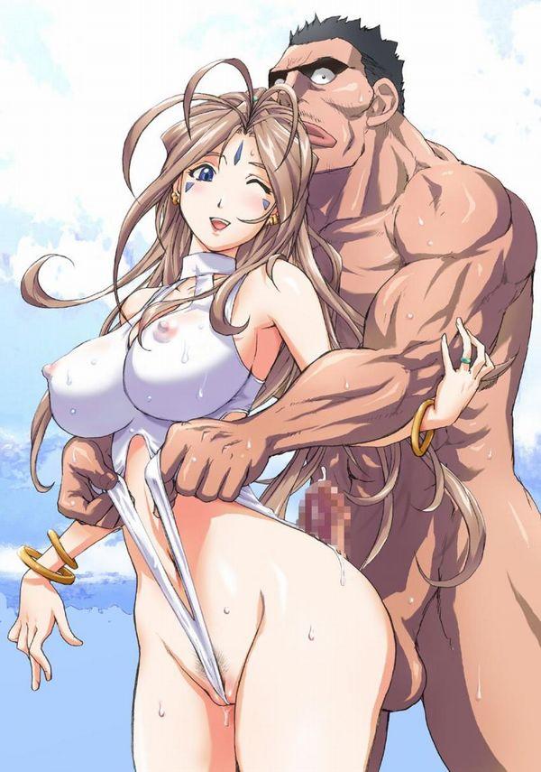 【祝結婚】ああっ女神さまっベルダンディーのエロ画像 【8】