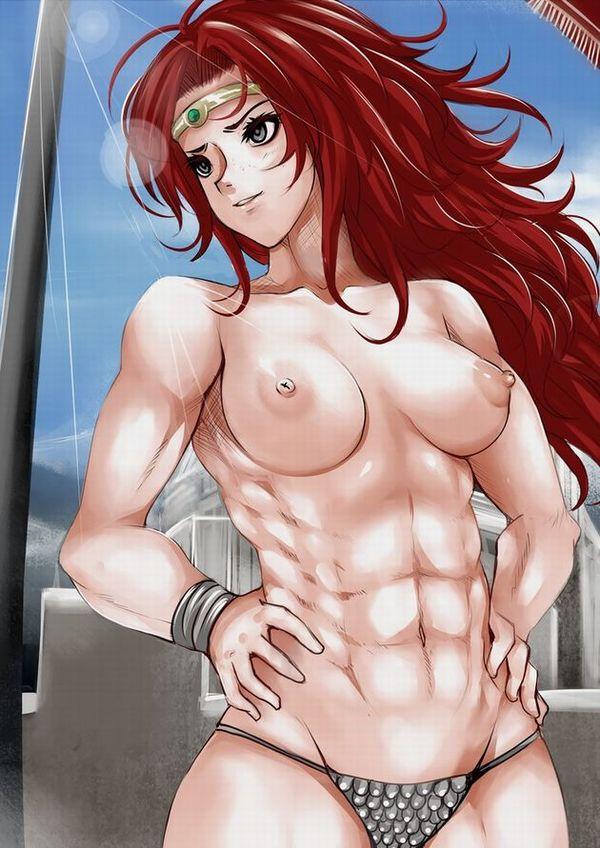 嘘喰いのエロ画像探したけど無かったので・・・亜面真琴立会人みたいな体した筋肉女子の二次エロ画像 【9】