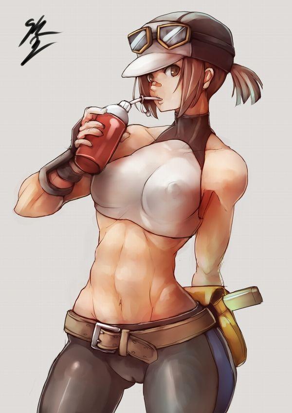 嘘喰いのエロ画像探したけど無かったので・・・亜面真琴立会人みたいな体した筋肉女子の二次エロ画像 【25】
