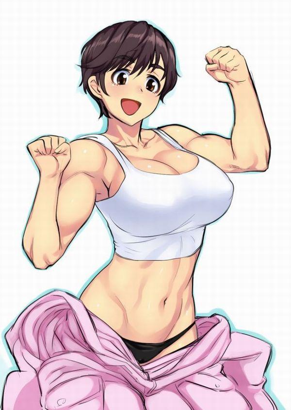嘘喰いのエロ画像探したけど無かったので・・・亜面真琴立会人みたいな体した筋肉女子の二次エロ画像 【36】