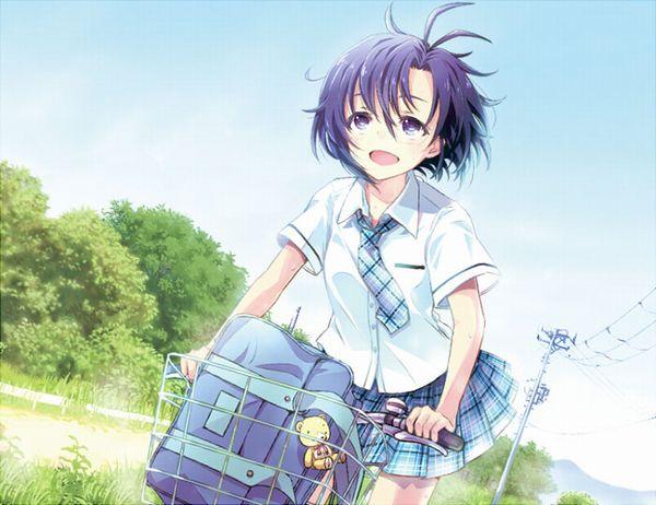【日常風景】家が少し遠いから・・・自転車通学してる女子高生の二次画像 【7】