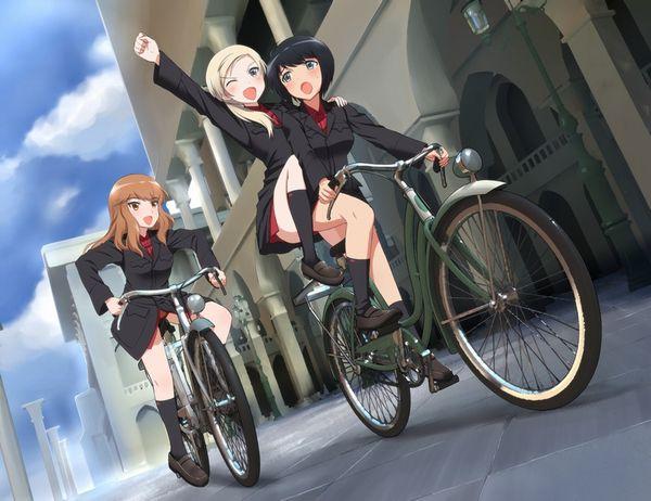 【日常風景】家が少し遠いから・・・自転車通学してる女子高生の二次画像 【12】