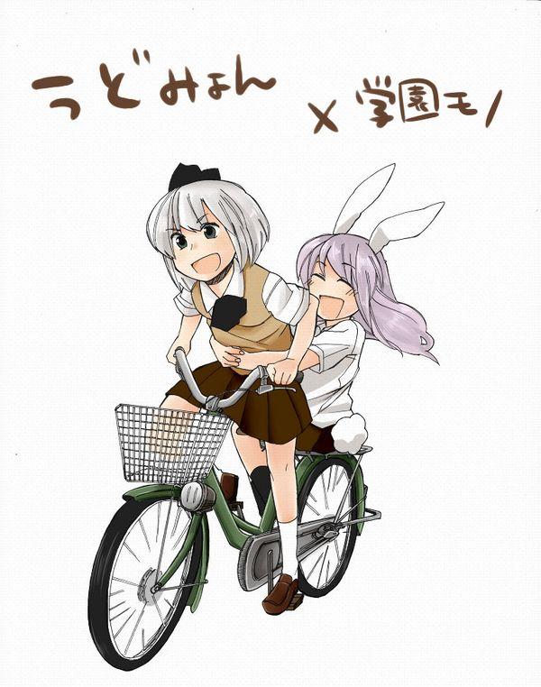 【日常風景】家が少し遠いから・・・自転車通学してる女子高生の二次画像 【13】