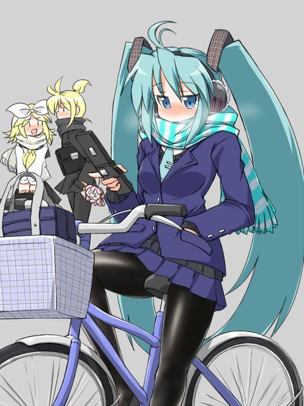 【日常風景】家が少し遠いから・・・自転車通学してる女子高生の二次画像 【20】