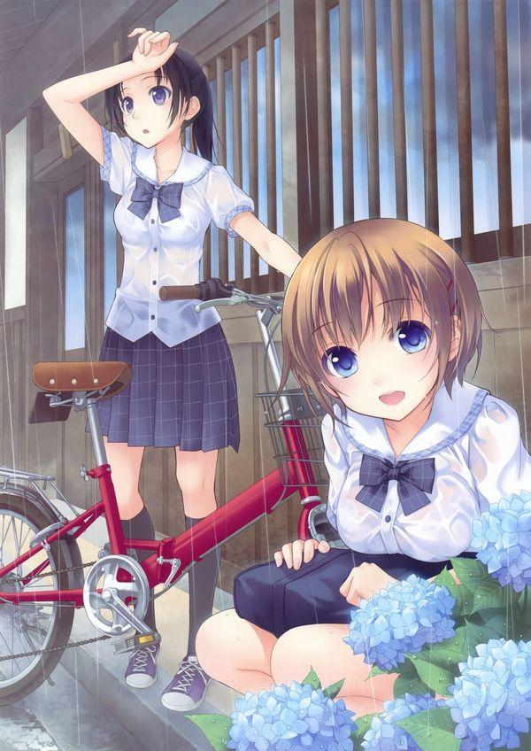 【日常風景】家が少し遠いから・・・自転車通学してる女子高生の二次画像 【30】