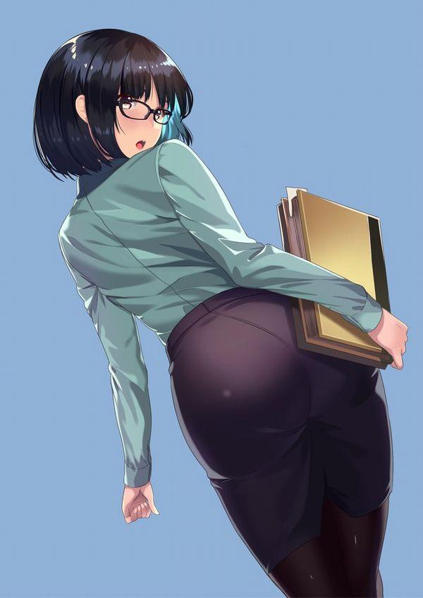 【エロメガネ】性欲強そう(偏見)大人なメガネお姉さんの二次エロ画像 【1】
