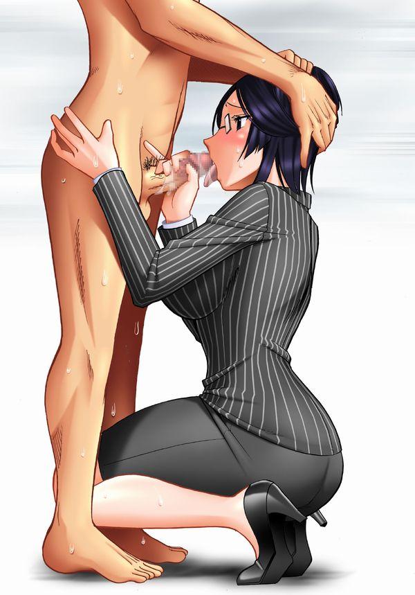 【エロメガネ】性欲強そう(偏見)大人なメガネお姉さんの二次エロ画像 【12】