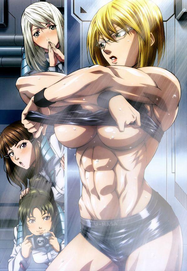 【筋肉女子】腹筋が物凄い割れ方してる女子達の二次エロ画像 【22】