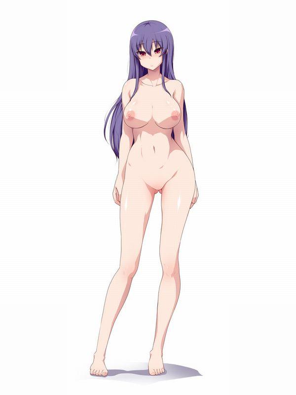【プレイかな?】全裸で立たされて恥ずかしそうにしてる二次エロ画像 【36】