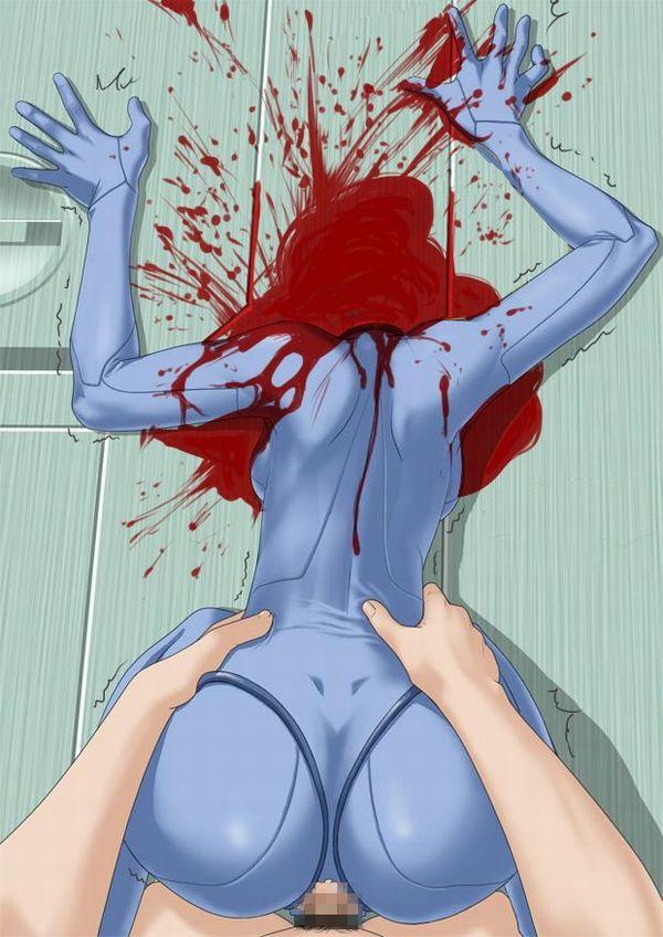 【閲覧注意】死姦してる二次エロ画像【9】
