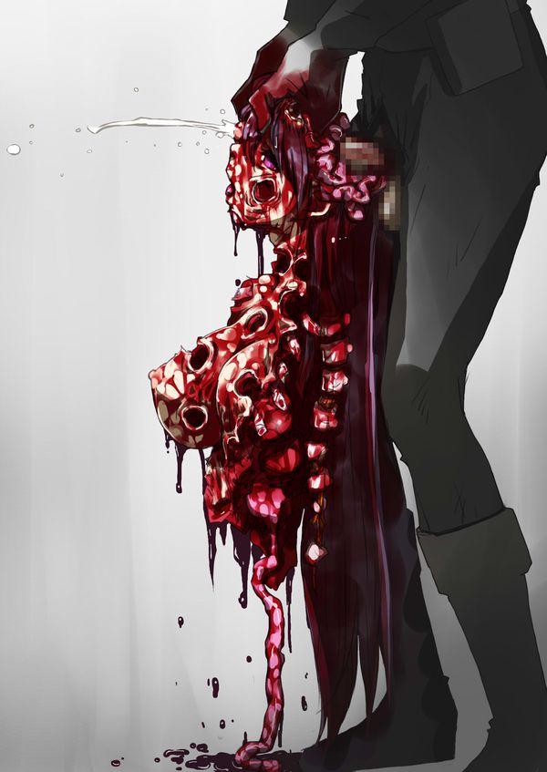 【閲覧注意】死姦してる二次エロ画像【33】
