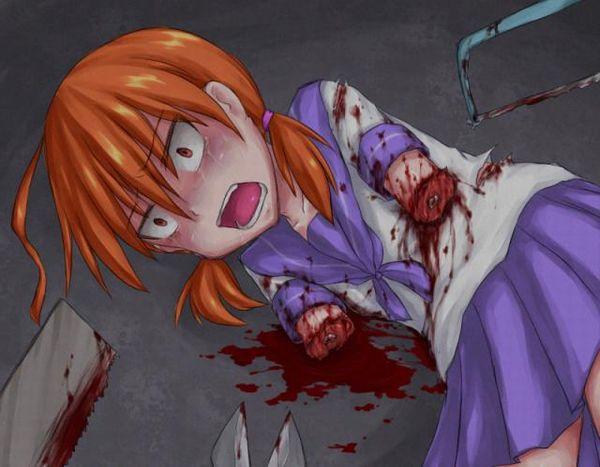 【エグゾディア】女の子が四肢切断されてる真っ最中な二次グロ画像【4】