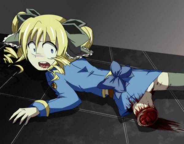 【エグゾディア】女の子が四肢切断されてる真っ最中な二次グロ画像【15】