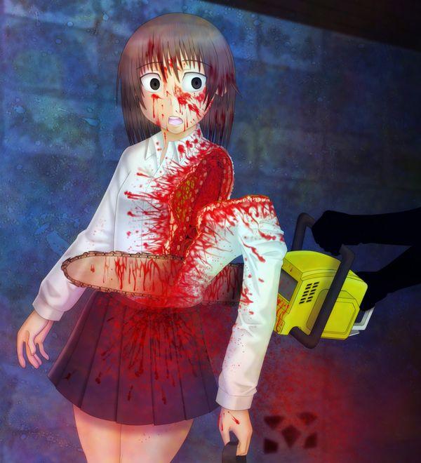 【エグゾディア】女の子が四肢切断されてる真っ最中な二次グロ画像【19】