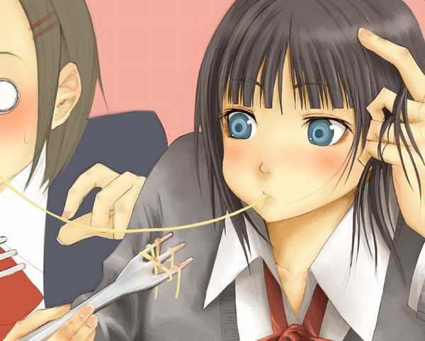 【飯テロ】女の子が美味しそうに食事してる二次画像【19】