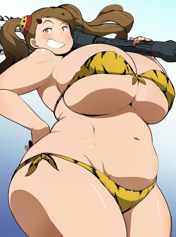 【カビゴンGET記念】ぽっちゃりムチムチ体型な二次エロ画像【23】