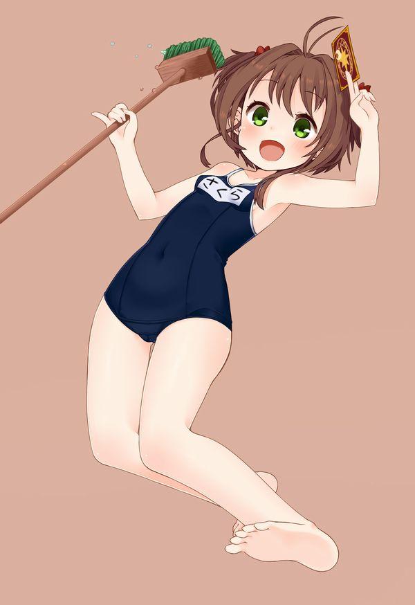 【適材適所】スク水を着るべき年齢の子がスク水を着てる二次ロリ画像【35】