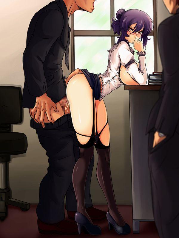 【着衣セックス】服を着たままで性行為に及んでる二次エロ画像【36】