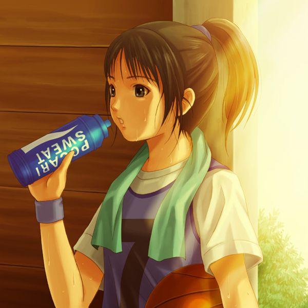 【バスケがしたいです】バスケ部所属っぽい女子達の二次エロ画像【6】