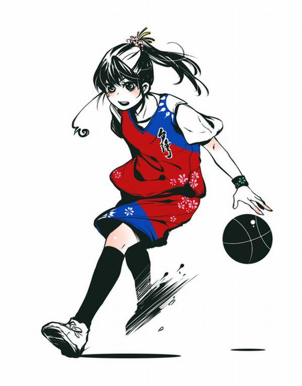 【バスケがしたいです】バスケ部所属っぽい女子達の二次エロ画像【9】