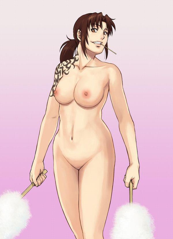【ロックの香り】タトゥー入ってる女の子の二次エロ画像【28】