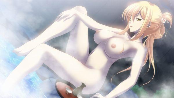 【のぼせそう】温泉に漬かりながらお酒を嗜む女子達の二次エロ画像【22】