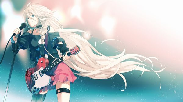 【Rock】ギター弾いてる女の子達の二次画像【4】