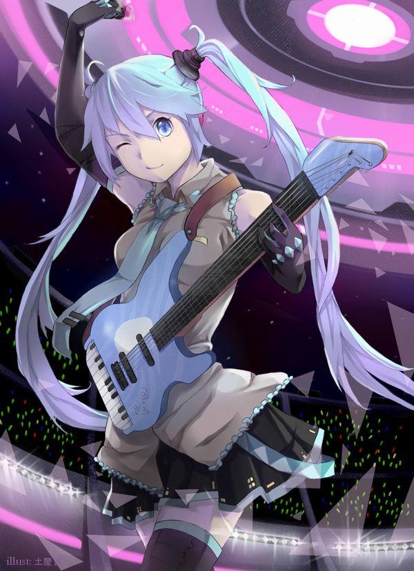 【Rock】ギター弾いてる女の子達の二次画像【7】
