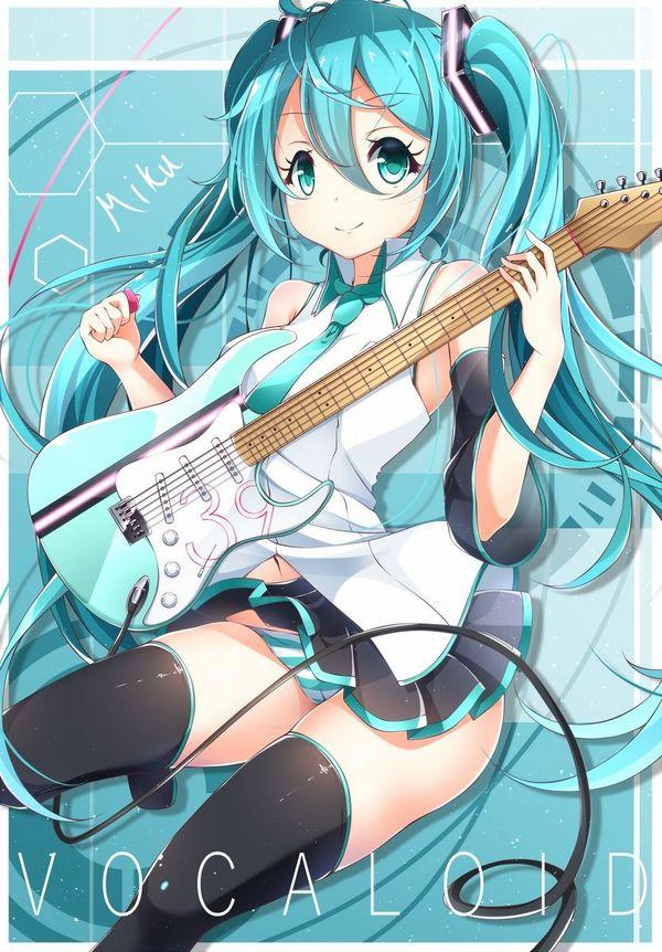 【Rock】ギター弾いてる女の子達の二次画像【10】