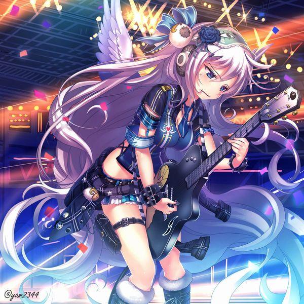 【Rock】ギター弾いてる女の子達の二次画像【13】
