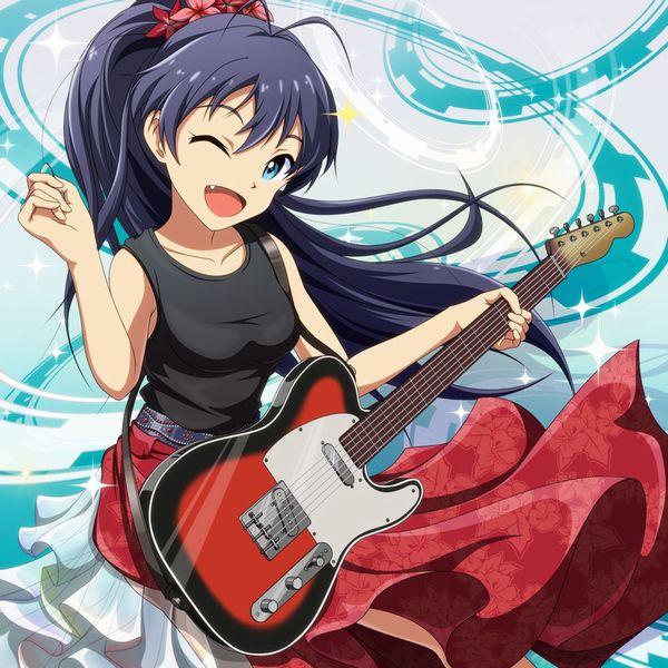 【Rock】ギター弾いてる女の子達の二次画像【20】