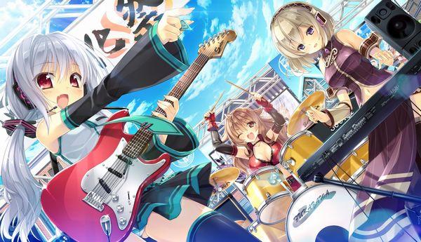 【Rock】ギター弾いてる女の子達の二次画像【21】