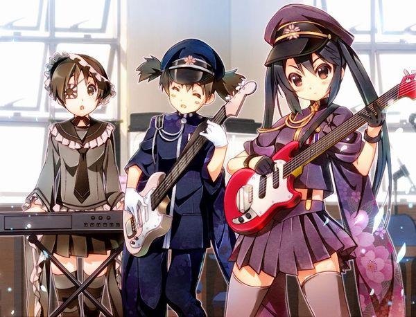 【Rock】ギター弾いてる女の子達の二次画像【25】