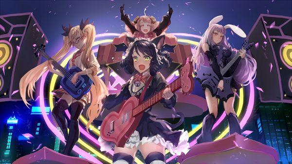 【Rock】ギター弾いてる女の子達の二次画像【35】