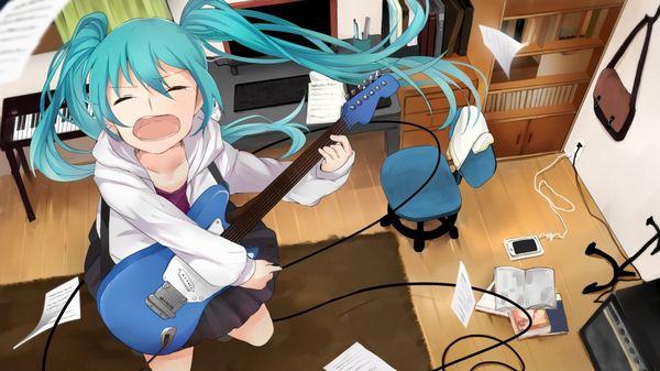 【Rock】ギター弾いてる女の子達の二次画像【36】
