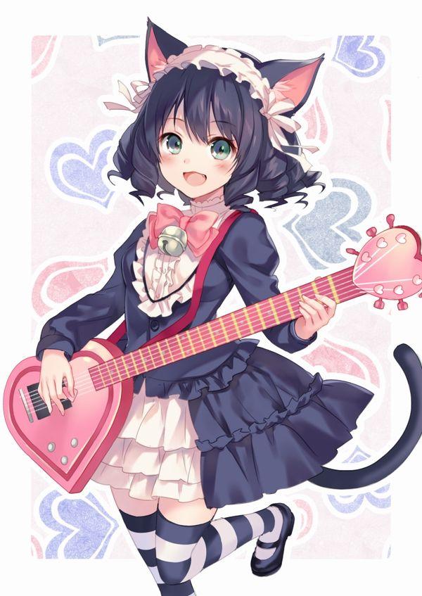 【Rock】ギター弾いてる女の子達の二次画像【37】
