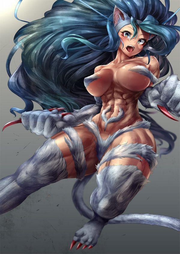 【強い(確信)】梶原さんに勝てそうな筋肉女子達の二次エロ画像【8】