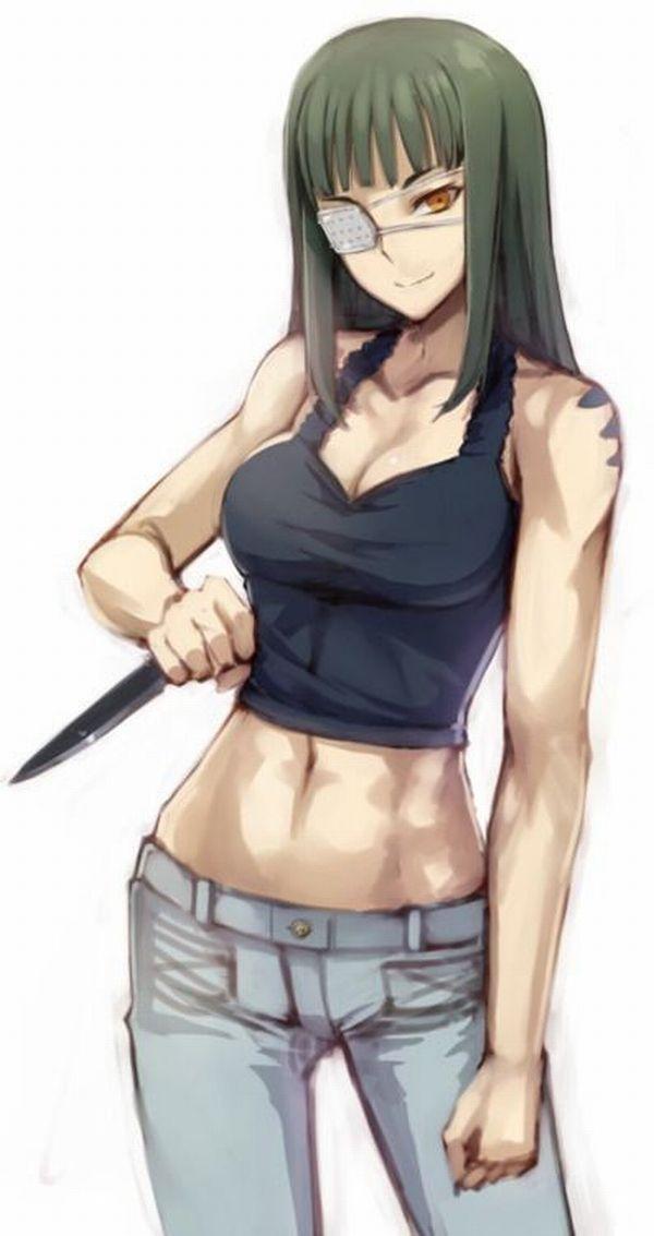【強い(確信)】梶原さんに勝てそうな筋肉女子達の二次エロ画像【32】