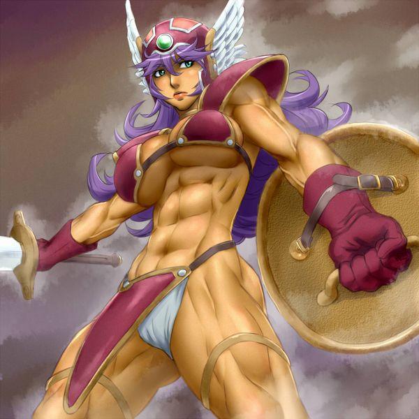 【強い(確信)】梶原さんに勝てそうな筋肉女子達の二次エロ画像【35】