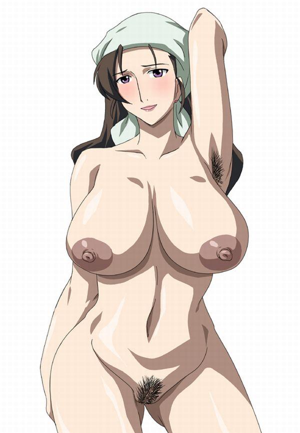 【ナチュラリスト】敢えて腋毛を処理していない女子達の二次エロ画像 【16】