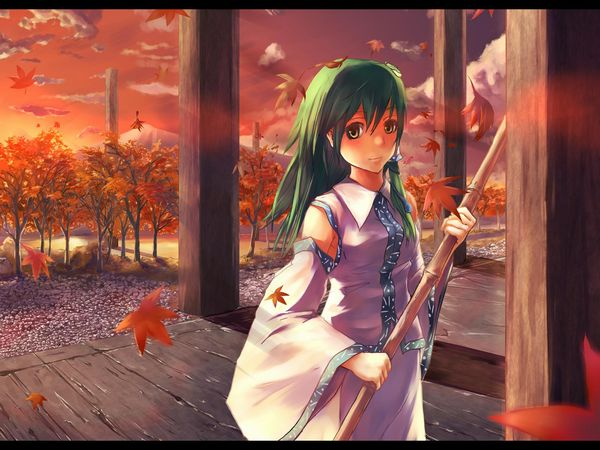 【紅葉】秋っぽい風景と美少女達の二次画像 【6】