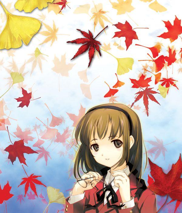 【紅葉】秋っぽい風景と美少女達の二次画像 【9】