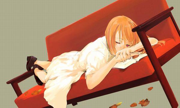 【紅葉】秋っぽい風景と美少女達の二次画像 【14】